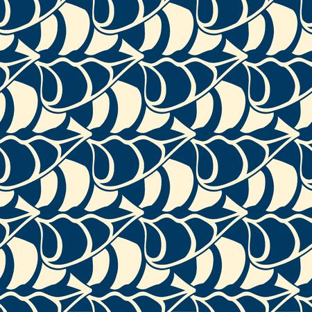 Monocromo minimalista de patrones sin fisuras