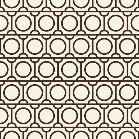 현대 Blackwhite 추상 원활한 반복 패턴