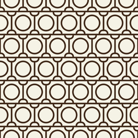 Modern Blackwhite Abstract Seamless Repetition Pattern