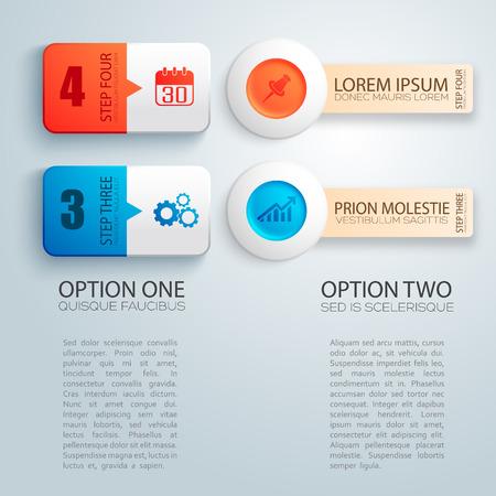 Business Design Concept  on plain background.