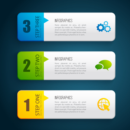 business design concept banners on plain background royalty free