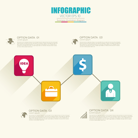 Infographic Business Web Template