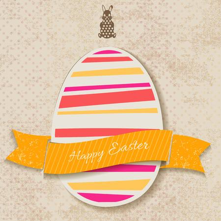 Happy Easter Vintage Card
