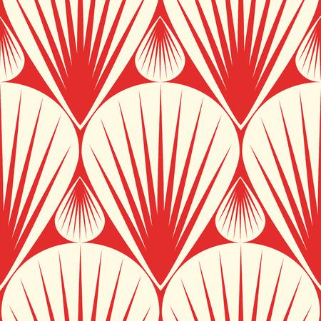 Light Minimalistic Vintage Seamless Pattern Illustration