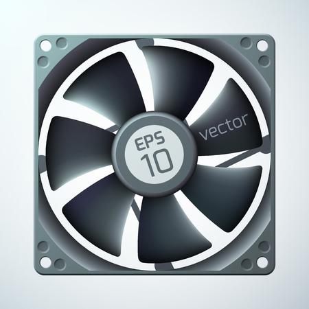 3d Computer Cooler Template