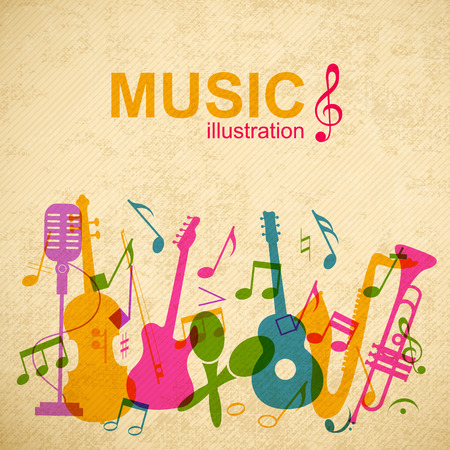 Music Abstract Template.
