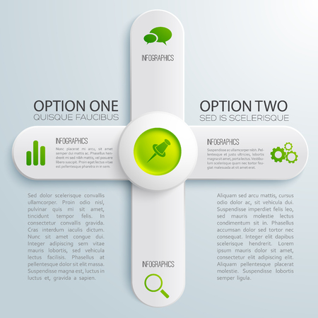 Infographic Business Design Concept