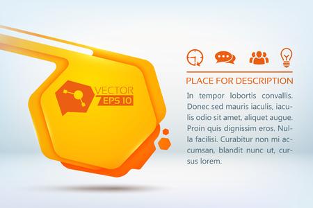 Hexagon Drops Design Concept