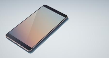 Realistic Stylish Design Cellphone Concept Çizim
