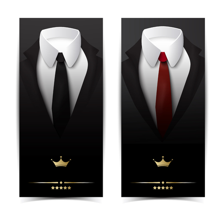 Business Clothing Vertical Banners