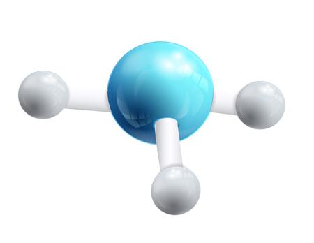 3D logotipo icono ADN y molécula Foto de archivo - 90770734