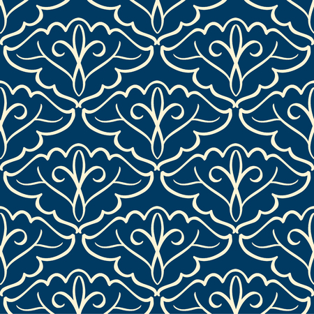 Vintage pattern with arabesque ornament.