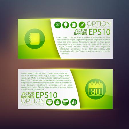 Web Infographic Horizontal Banners