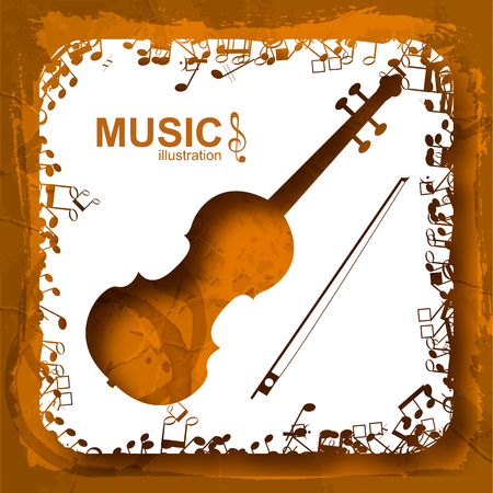 Music Abstract Composition