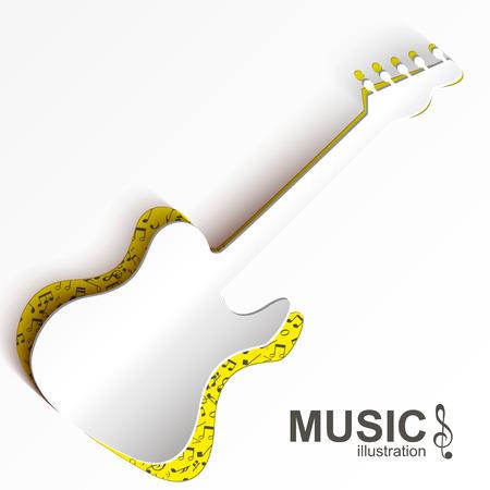 음악 추상 디자인 컨셉 일러스트
