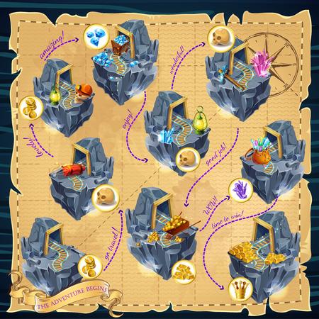Cartoon Mining Game Template
