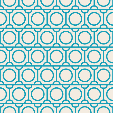 Modern Blue And White Abstract Seamless Repetition Pattern