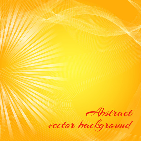 Abstract Vector Background Poster