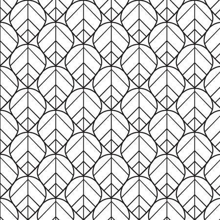 Abstract Mosaic Seamless Pattern