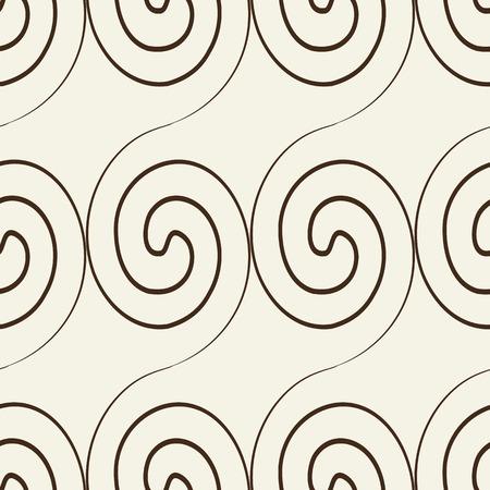 Abstracte naadloze geometrische textuur zwart-wit patroon Stock Illustratie