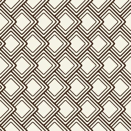 기하학적 장식으로 추상 단색 국경 패턴 사각형 모양 편평한 평면 그림의 구성.