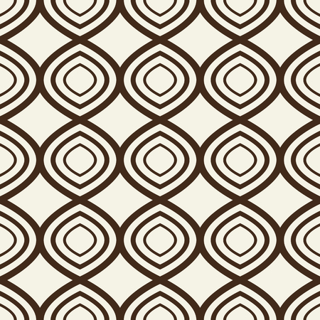 Seamless Pattern With Identical Geometrical Elements