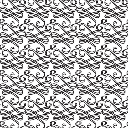 Ornate Decorative Seamless Pattern