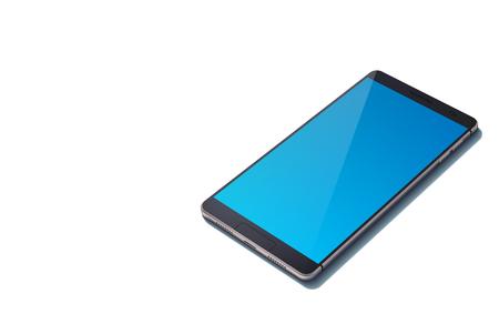 Realistic Design Cellular Device Concept. Stok Fotoğraf - 92345468
