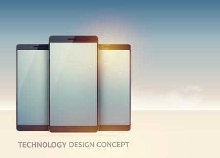 Digitale technologie apparaten Concept.