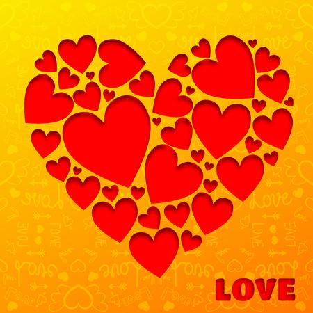 Romantic Love Background Banco de Imagens - 93074089