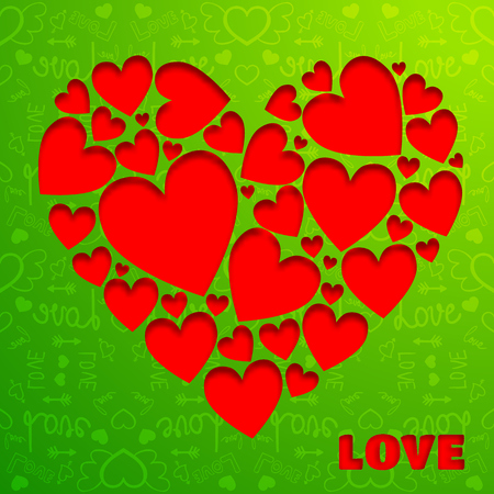 Valentijnsdag achtergrond Stockfoto - 93140232
