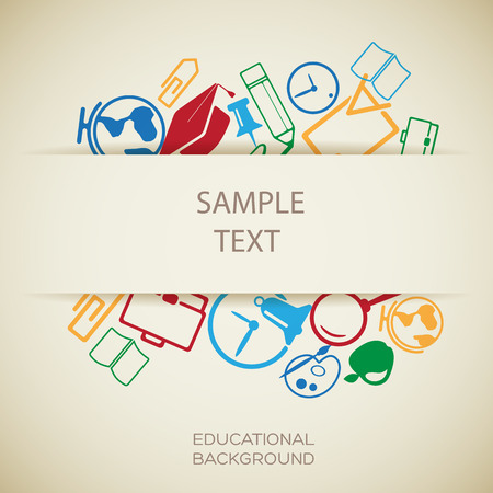교육 디자인 템플릿 스톡 콘텐츠 - 93459651