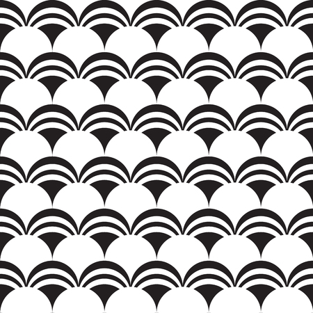 Abstract Minimalistic Seamless Pattern Çizim