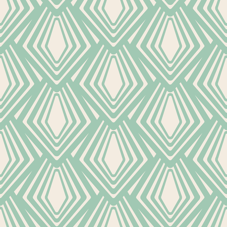Abstract seamless geometric pattern with repeating blue shapes drawing on the white background vector illustration Ilustracja
