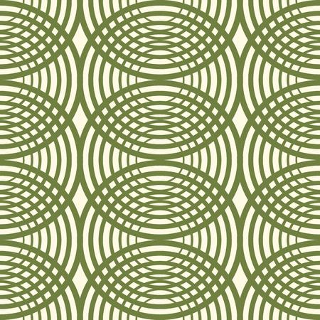 Decorative Kaleidoscope Seamless Pattern Illustration