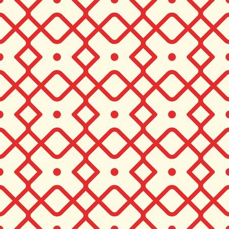 Seamless Geometric Square Pattern Ilustração