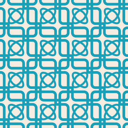 Blue And White Kaleidoscope Seamless Pattern Stock Vector - 93567751