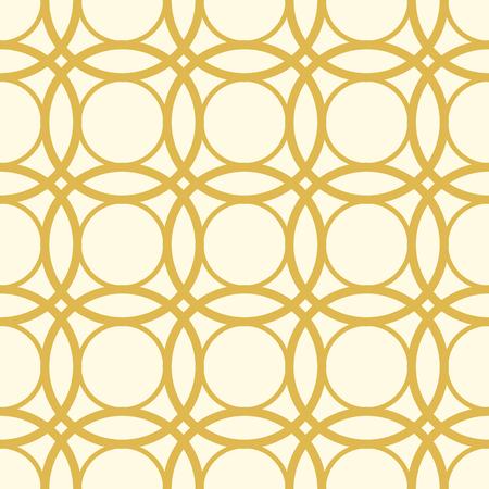 Seamless White And Yellow Pattern