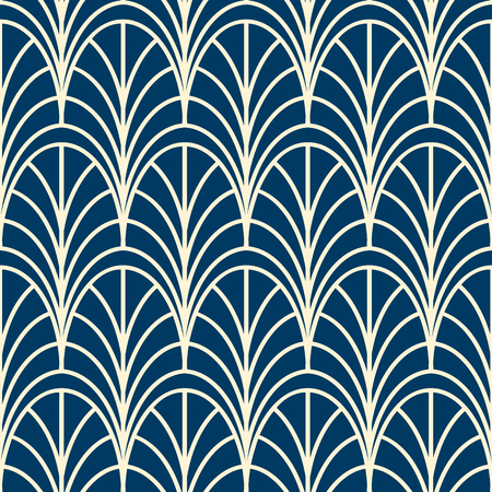 Geometrical seamless pattern similar to decorative trellis
