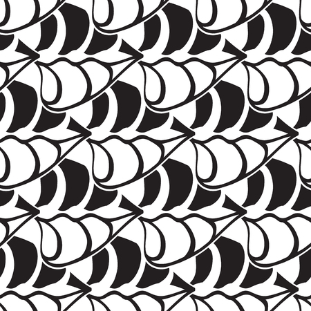 Abstract minimalist seamless pattern with repeating geometric structure in simple style vector illustration.