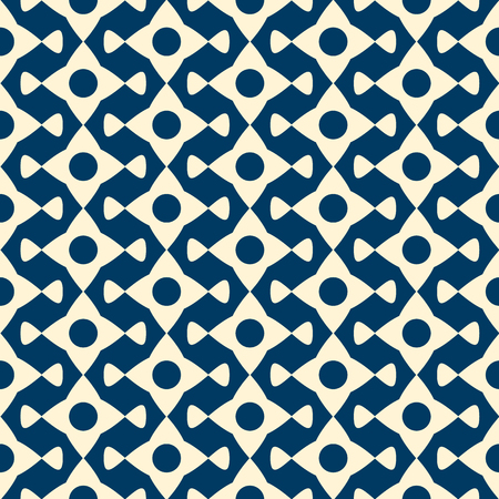 Abstract shapes Vector seamless pattern Çizim