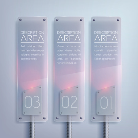 Glass Business Vertical Banners