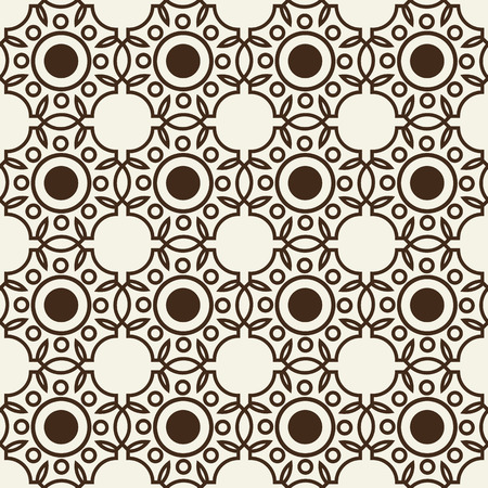 Monochrome Seamless Background Pattern