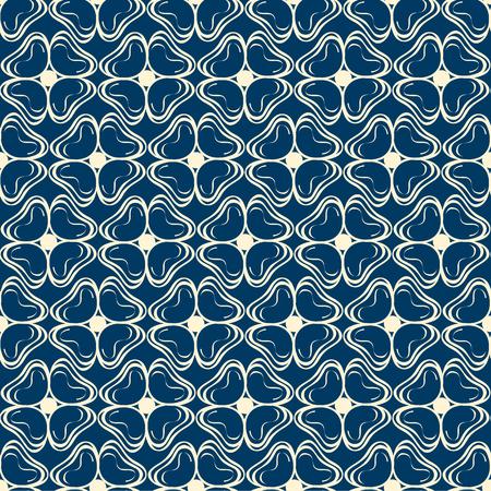 Abstract Monochrome Seamless Pattern