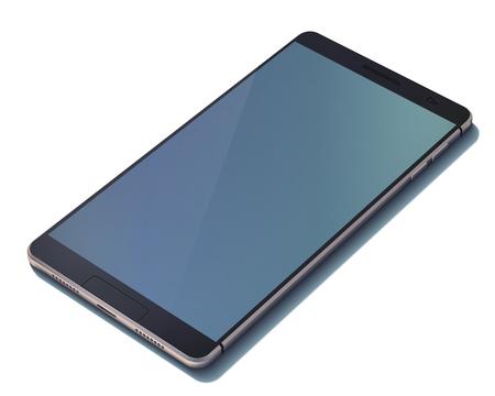Realistic Modern Design Smart Phone Concept