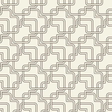 Abstract Light Vintage Seamless Pattern Çizim