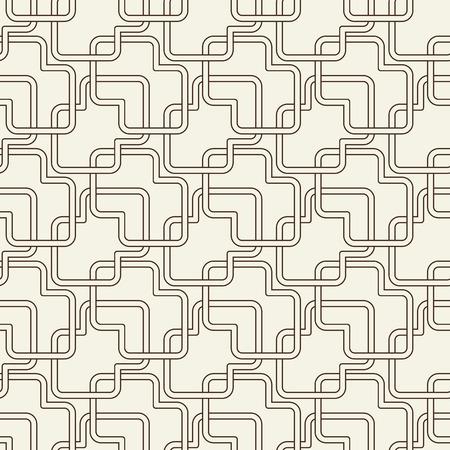 Abstract Light Vintage Seamless Pattern Illustration