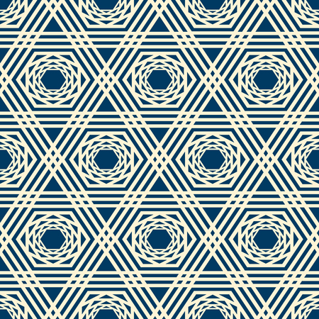 抽象的なミニマルな幾何学的シームレスパターン