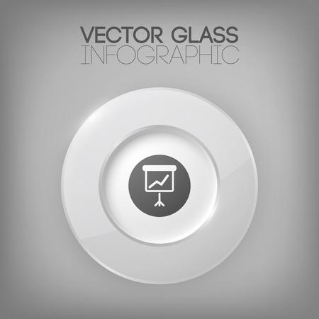 Business Infographic Konzept mit Kreis Element