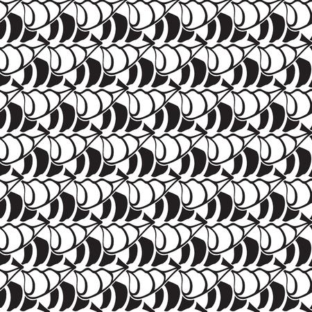 Abstract Minimalistic Seamless Pattern Illustration